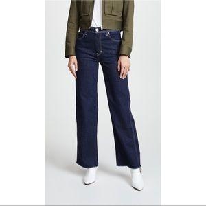 NWOT RAG & BONE Derby Wide Leg Jean